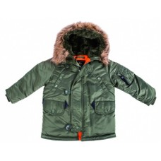 Детская аляска Alpha Industries Youth N-3b parka