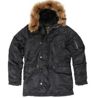 Куртка аляска Alpha Industries  N-3B Parka with Down