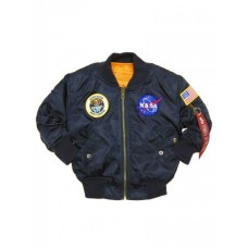 Детская куртка Alpha Industries Youth NASA MA-1 Flight Jacket